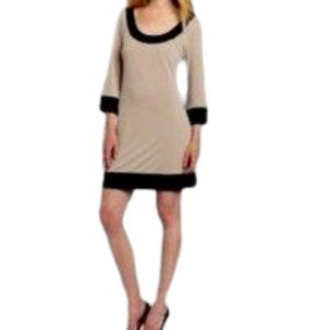 ABS Allen Schwartz Mod Style Dress NWT Sz Large